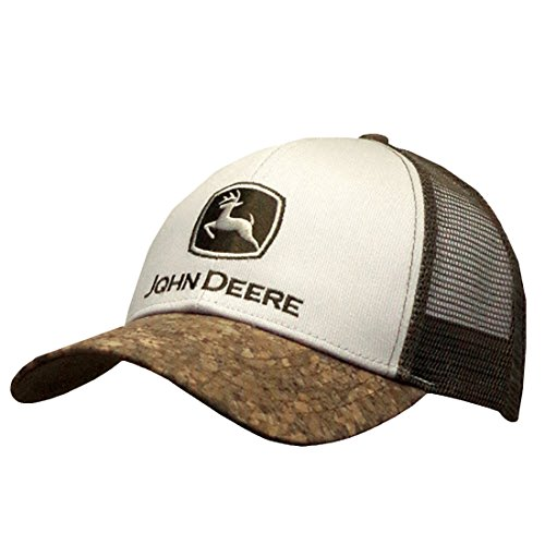 John Deere Bark Bill Mesh Back Hat