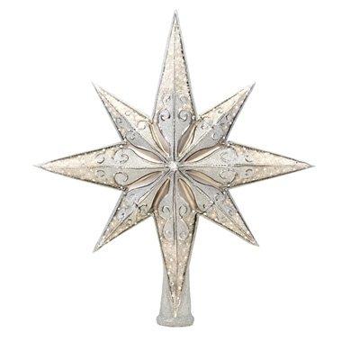Christopher Radko Silver Stellar (Radko Finial)