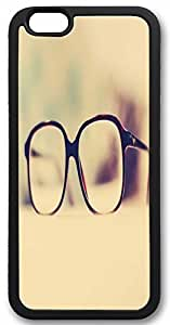 Custom Iphone 6 Case,Eyeglass frame as Custom TPU Black Iphone 6(4.7) Cases