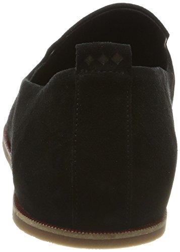 Royal RepubliQ Evo Loafer Suede, Sandalias con Punta Cerrada para Hombre Schwarz (Black)