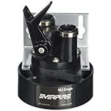 Everpure EV9259-14 QL3 Single Filter Head with Bracket, Shut-off valve, and 3/8 inch NPT threads