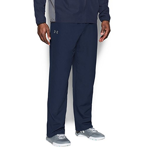 Under Armour Men's Vital Warm-Up Pants, Midnight Navy/Graphite, Small by Under Armour (Image #4)