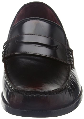 Ted Baker Rommeo, Mocasines para Hombre, Gris Oscuro Red (Dk Red)