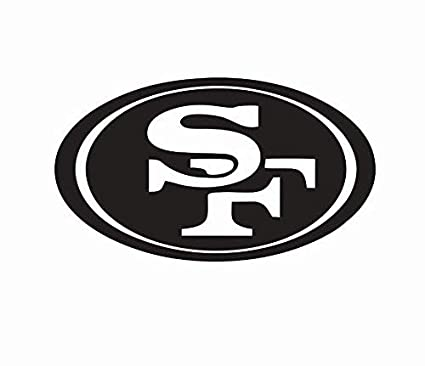 Amazon.com  San Francisco 49ers Large Decal  4d7893584