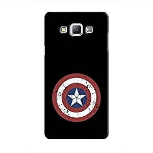 Cover It Up - Captain Shield Print Galaxy A8 Hard Case