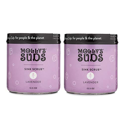 Molly's Suds Sink and All Purpose Scrub, 2 Pack, Lavender Scent