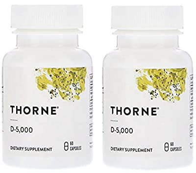 THORNE RESEARCH VITAMIN D -5000 120 ct
