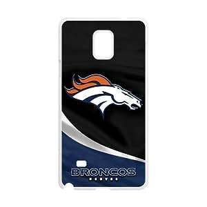 Custom Unique Design Denver Broncos Samsung Galaxy Note 4 Silicone Case