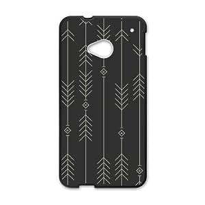 HTC One M7 Cell Phone Case Black spiga gmwe