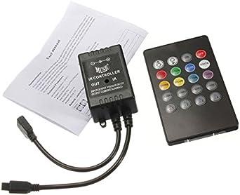 VOYOMO 2x5M SMD5050 RGB LED Strips steuerbar via App und 24-Tasten Fernbedienung mit 16 Millionen Farben Dekoration Bluetooth LED Streifen 10M Timermodus und Sync mit Musik 12V f/ür Haus Garten