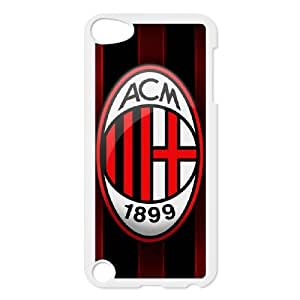 Cell Phone case AC Milan FC LOGO Cover Custom Case For Ipod Touch 5 MK8Q943480