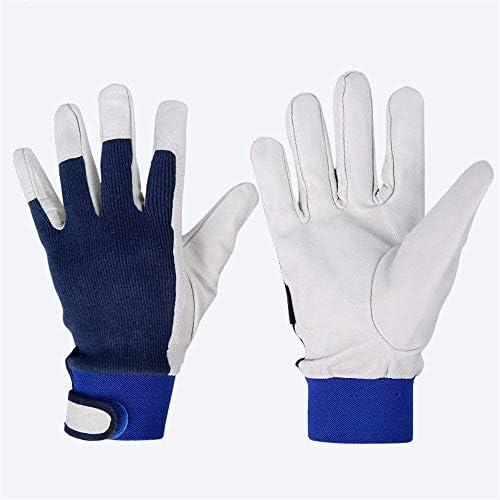 AMAZACER ケブラーライニング、TIG溶接手袋、10インチ、1pairと精密アークゴートスキンレザー溶接手袋 (Size : 1pair)