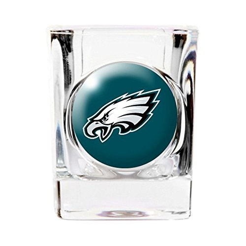 Great American Products Philadelphia Eagles Square Shot Glass
