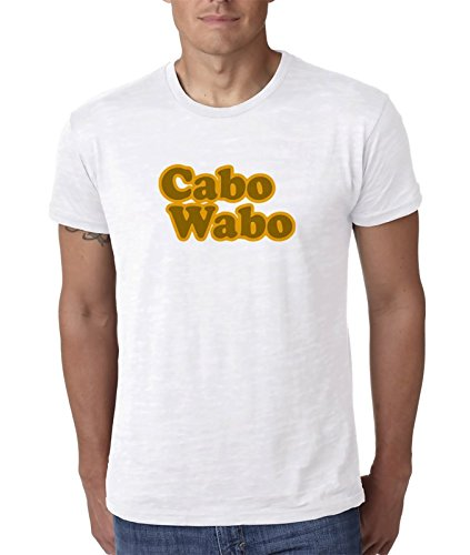 Cabo-Wabo-Cool-Nice-Fancy Blanco Camiseta Top t-Shirt Shirt