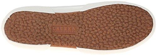 Inexpensive online cheap clearance store Lauren Ralph Lauren Women's Jolie Fashion Sneaker Blue Oxford Cloth b9KaDx
