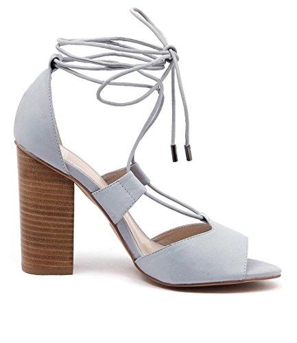 Powder Blue High leather Heels Favor MOLLINI Blue Powder Sandals Shoes Womens 45ZaWq7w