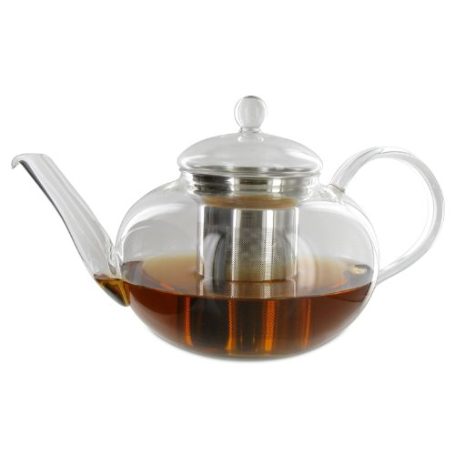 Adagio Teas Glass Teapot & Infuser 42 oz (Pack of 1) (Adagio Glass Teas Teapot)