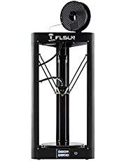 FLSUN Pre-assembled Delta 3d Printer with Printing Sizeφ260X370 Auto Leveling Touch Screen WIFI Remote Control Heated Bed Auto Leveling