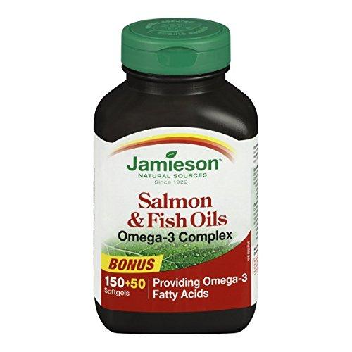 $8.99 (was $11.97) Jamieson Salmon & Fish Oils Omega-3 Complex 1,000 mg