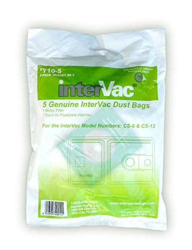 Y10 5 Replacement Bags For Cs6 And Cs8 Vacuums