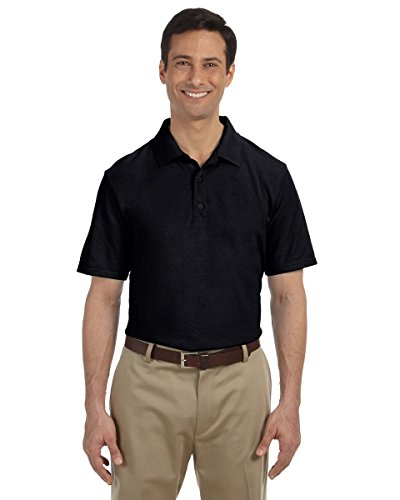 gildan-94800-gd-adult-pique-polo-black-m