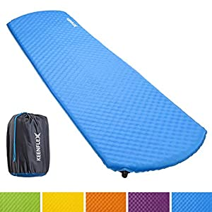 KeenFlex Camping Sleeping Mat Self Inflating 4cm Thick Light Water Resistant Camping Mattress For Hiking, Backpacking…