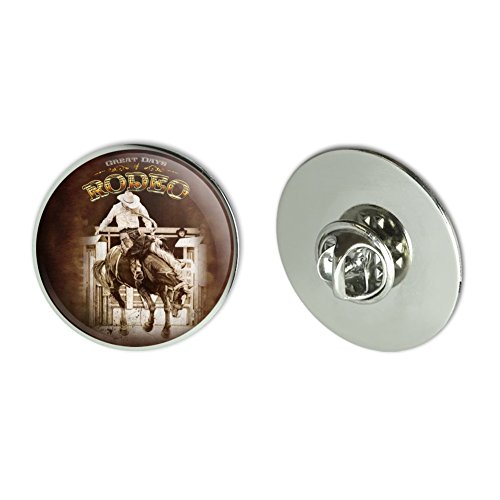 Tie Tack Horse (Graphics and More Cowboy Western Rodeo Vintage Horse Bucking Riding Metal 1.1