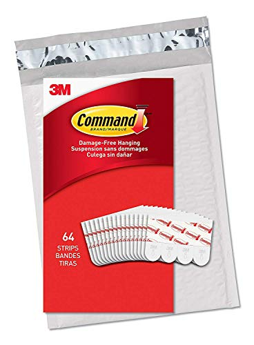 Command Small Clear Refill Strips, Sets of Strips
