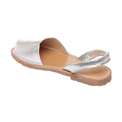 Modeuse Mujer Vestir De La Plata Para Sandalias q6Hwxnnz8d