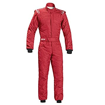 Size: 56, Black Sparco Sprint RS-2.1 Racing Suit 001091