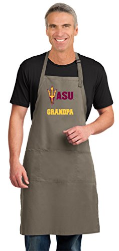 - Broad Bay Arizona State Grandpa Apron Large Mens Womens ASU Grandpa Logo Gift Idea