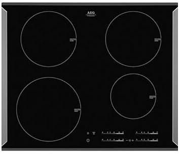 AEG HK-654200-PB hobs Negro Integrado Con - Placa (Negro ...