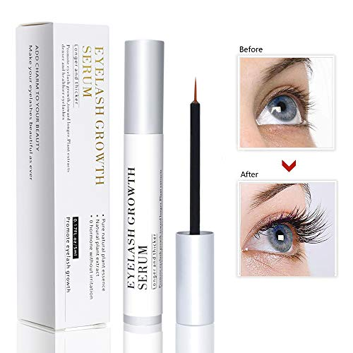 Vanelc Best Natural Eyelash Growth Serum,Brow & Lash Enhancing Formula & Rapid Brow Growing Treatment for Longer, Thick And Strong Lashes 5ML ()