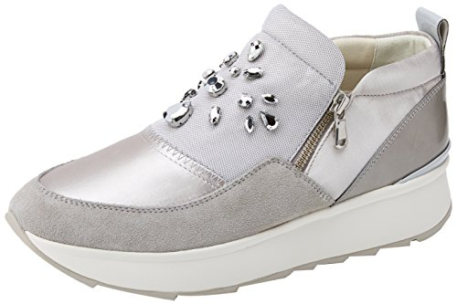 Basses Grey Gris Grigio Gendry Femme A lt Sneakers Geox SwtZHpqn
