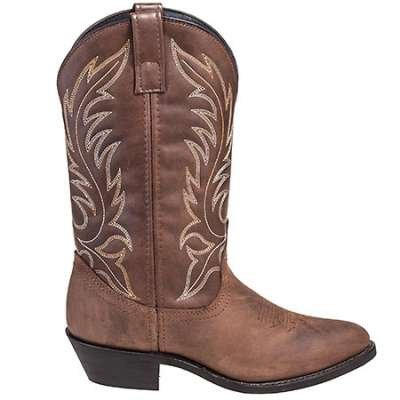Laredo Boots Women's Tan 5742 Kadi 11-Inch Round Toe Cowboy Boots