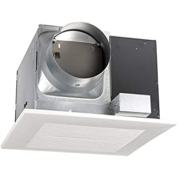 Panasonic FV-30VQ3 WhisperCeiling Ventilation Fan, Quiet Air Flow, Long Lasting, Easy to Install, Code Compliant, Energy Star Certified, White