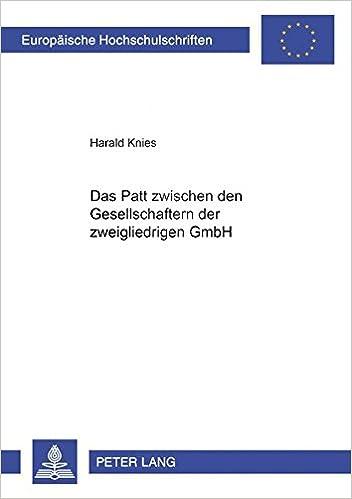 Patt Bergisch Gladbach das patt zwischen den gesellschaftern der zweigliedrigen gmbh