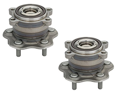 Detroit Axle - 2WD ONLY Both (2) Rear Wheel Bearing & Hub Assembly fits 2014-2016 Infiniti QX60 / 2013 JX35 / 2007-2012 Nissan Altima / 2009-2016 Maxima / 2013-2015 Pathfinder