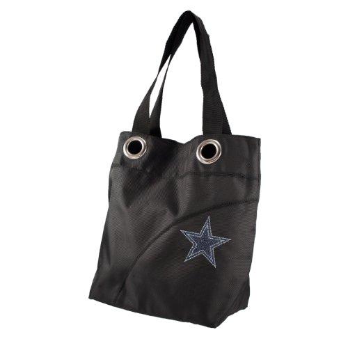 NFL Dallas Cowboys Sport Noir Sheen Tote (Purse Dallas Jersey Stars)