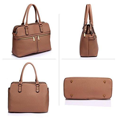 À Femme Style Compartments Celeb Fourre Sacs 3 Sac Main Sacs LeahWard® Tout Élégance Gret Mude 250 qMC8Kd