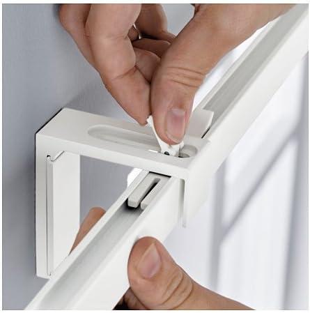 Ikea Vidga 702.991.53 - Barra de pista única, color blanco: Amazon.es: Hogar