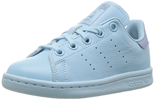 adidas Originals Unisex Stan Smith C Running Shoe, ICE Tactile Blue, 2.5 Medium US Little Kid