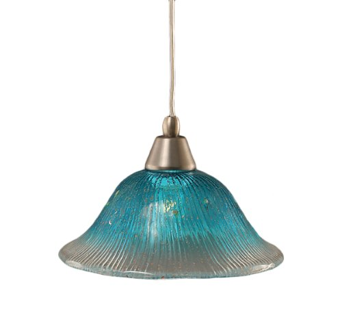 Teal Blue Pendant Light - 4