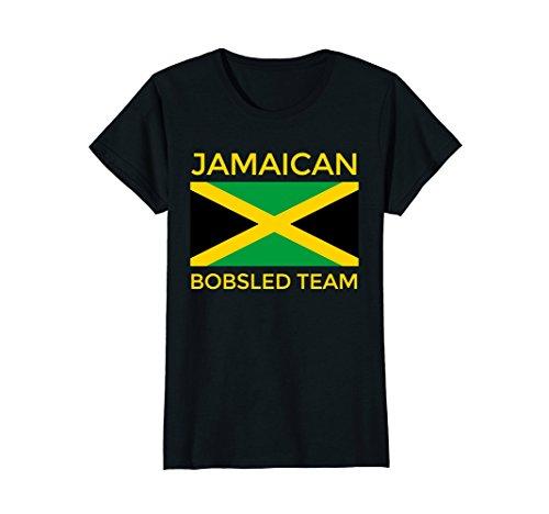 Womens Jamaican Bobsled Team Shirt - Jamaican Flag Bobsled T-Shirt XL - Team T