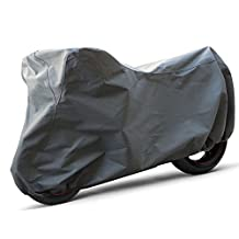 OxGord Superior Motorcycle Cover - Basic Out-Door 4 Layers - Ready-Fit / Semi Custom - Fits up to 111 Inches