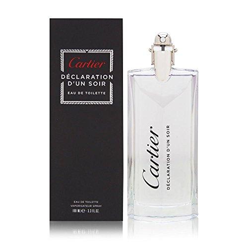 Declaration D'Un Soir by Cartier for Men 3.3 oz Eau de Toilette Spray
