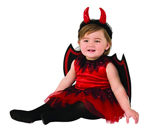Rubie's Kid's Opus Collection Lil Cuties Little Devil Costume Baby Costume, As Shown, ()