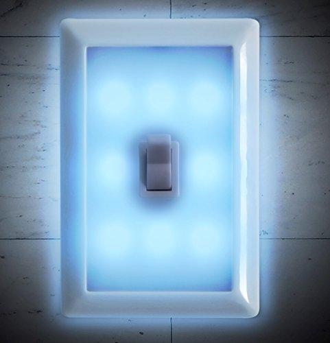 Amazon.com: 2 Light Switch Wall Nightlight 8-LED Long-Life
