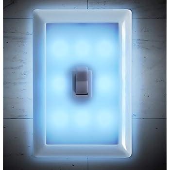 Night light wall switch battery operated set of 2 by techtools night light wall switch battery operated set of 2 by techtools mozeypictures Choice Image