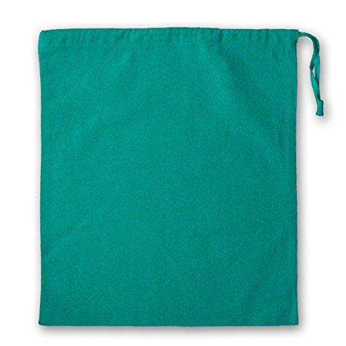 x 38 avec Id sac de x 43 100 Grand coton serrage Turquoise cm 43 cordon HBaWfgBT
